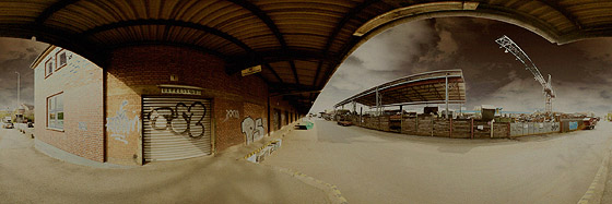 Der Cannstatter Güterbahnhof