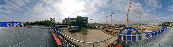 Landesmesse Baustelle