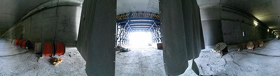 Neubau des B10 Tunnels