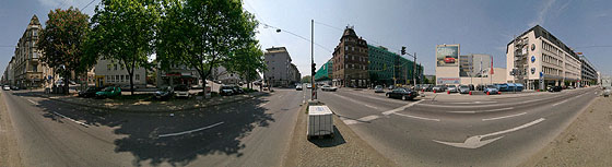 Umbauten in der Neckarstraße