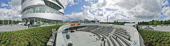 Fuhrpark der Mercedes-Benz Welt