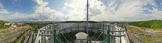 Blick über den Pragsattel