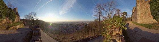 Zwei-Burgen-Stadt Weinheim