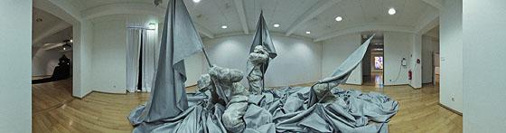 Lebensgroße Skulptur