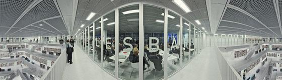 Die Cafeteria »Lesbar«