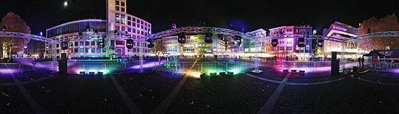 S-City leuchtet, lange Einkaufsnacht