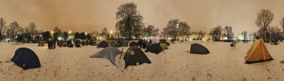 Viele viele bunte Zelte