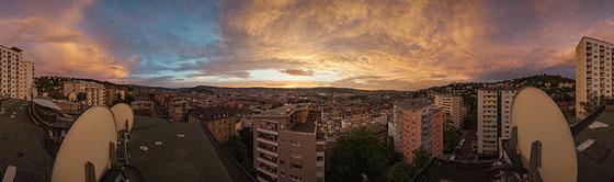Ganz Stuttgart leuchtet in Orange