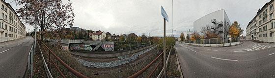 Bahntunnelportal Feuerbach