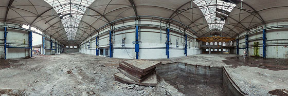 Abriss Industriehalle