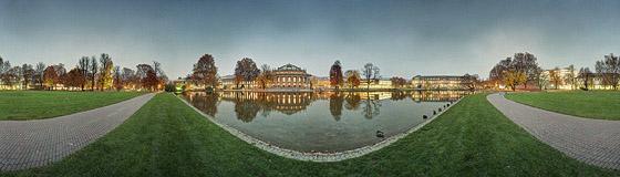 Staatstheater, Landtag, Neues Schloss