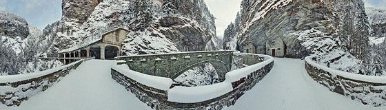 Wildener-Brücken über die Viamala