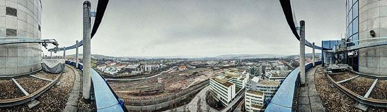 Auf dem Bülow Turm