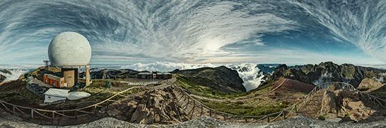Auf dem Pico do Arieiro