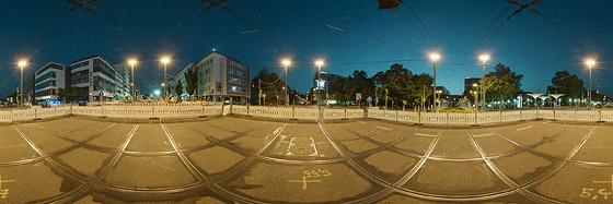 Gesperrter Berliner Platz