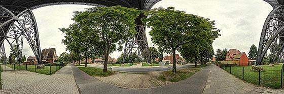 Unter der Rendsburger Hochbrücke