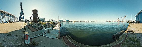 Im Hafen von Aarhus