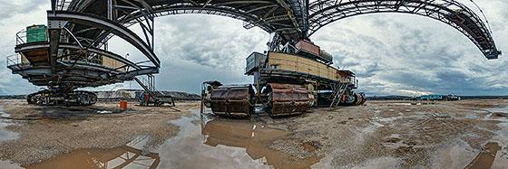 Braunkohletagebau Vereinigtes Schleenhain