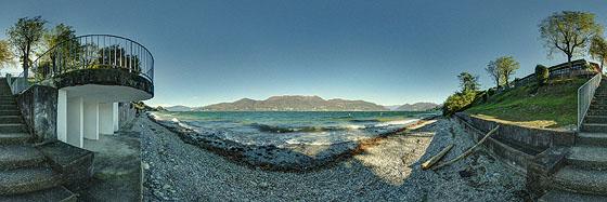 Am Ufer des Lago Maggiore