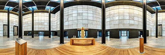 Christus Pavillon, Kloster Volkenroda